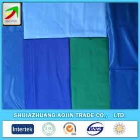 polyester cotton80/20 45x45 110x76 plain dyed fabrics