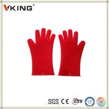 China Hersteller Produkt Lange Ofen Handschuhe mit Fingern