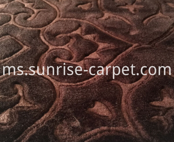macro figure embossing carpet