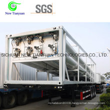 12 Tubes CNG Tube Bundle Container, CNG Semi-Trailer