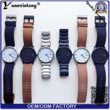 Yxl-929 Relogio Masculino Часы Мужские военные кварцевые часы Хронограф мужские часы Лучшие бренды роскошные кожаные спортивные наручные часы