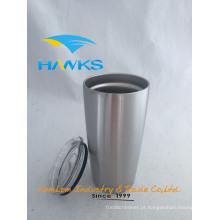 20 onças de aço inoxidável Insuatled Auto Mug / Thermos Coffee Tumbler / Drinking Cup