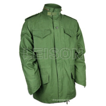 Military Coat M65 Adopting T/C or Nylon/Cotton Material