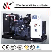 15 MW GENERATOR MIT SHANGHAI MOTOREN 800KW BEWEGLICH GESCHLOSSENEN TYP