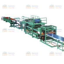 High-efficiency customized steel pu foam sandwich panel roof slab forming equipment