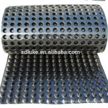 10mm Dimple Drain Board or Plastic HDPE Drain Sheets For Green Roof