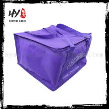 Одноразовые изолированный мешок охладителя обеда, изотермические сумки, изготовленный на заказ nonwoven может более холодный мешок