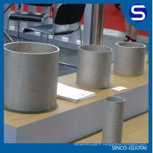 Fabricant de tuyau sans couture de l'acier inoxydable 316 d'ASTM A312