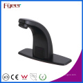 Fyeer New Cold and Hot Water Washbasin Black Sensor Tap with Temperature Adjust Valve
