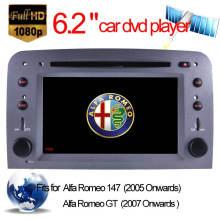 Lecteur DVD spécial pour voiture Alfa Romeo 147 / Alfa Romeo Gt Navigation GPS (HL-8805GB)