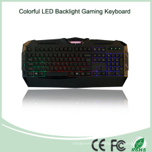 Wired USB Multimedia LED Metal Gaming Keyboard (KB-1902EL)