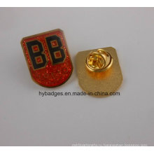 Тренируя выполненный на заказ сувенир, сверкающих Подгонянный значок (GZHY-БЕЙДЖ-011)