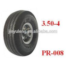 Pneumatische Gummiräder 10x3.50-4 für Handlaufkatze / Schubkarre