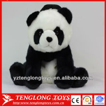 New design cute panda shaped plush bag for kids