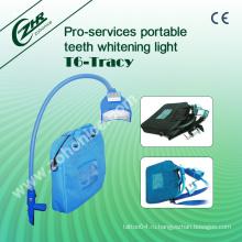 T6 Портативный синий светодиодный свет отбеливание зубов красоты машина
