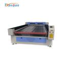 1630 Machine de découpe laser en cuir de tissu d'alimentation automatique
