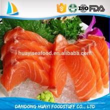 Gefrorene IQF Chum Lachsfilets Skinless hochwertige Meeresfrüchte aus China liefern