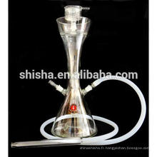 Gros verre narguilé tabac Starbuzz Shisha de verre