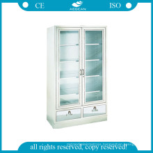AG-Ss083 with Glass Door Steel Cupboard