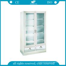 AG-Ss083 com armário de aço para porta de vidro