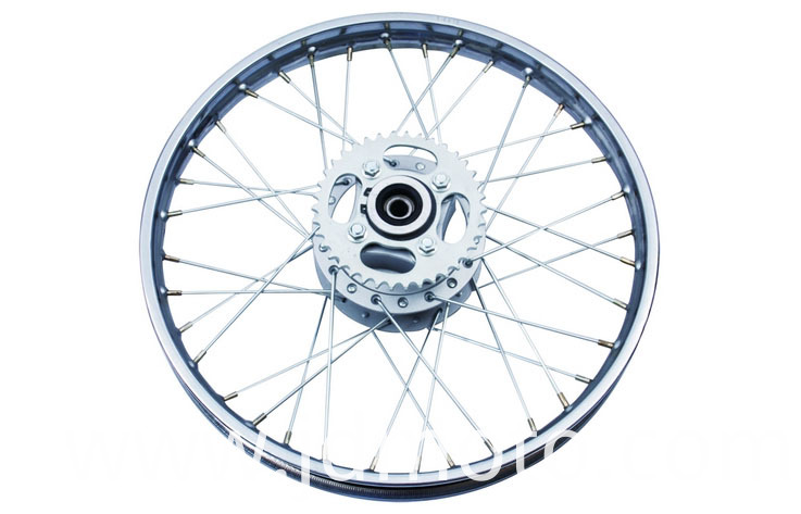 10127-CG REAR WHEEL(WITHOUT TIRE)