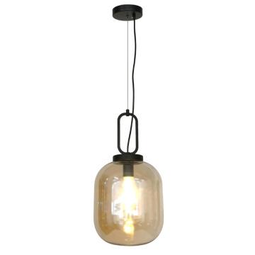 Lampe pendante en verre en forme d'ampoule d'oeuf moderne