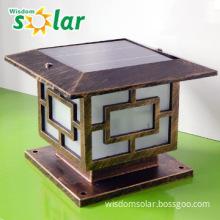 High pure aluminum solar post led garden light JR-3018