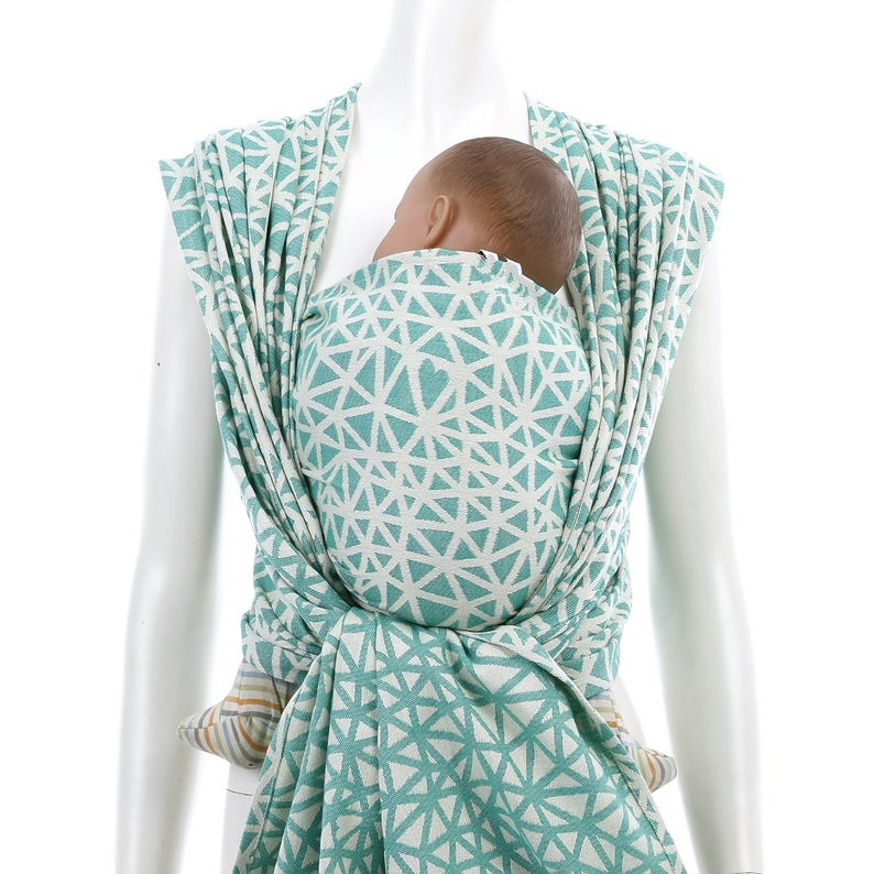 Infant Printed Woven Baby Wrap