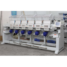 6 Heads 9/12/15 Colors Cap/Flat Computerized Embroidery Machine Wy906c/1206c/1506c