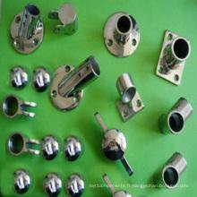 Pièce de montage de tuyau de moulage de précision en acier inoxydable