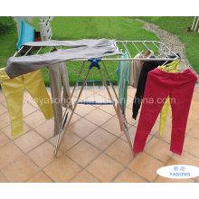 Aço Inoxidável 201 Garment Rack Acessível cabide de roupas