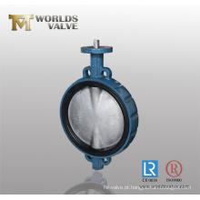 China fabricante de JIS 10K Wafer Válvula de borboleta
