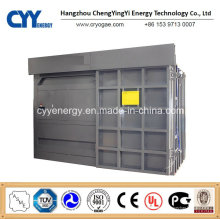 Cyyru24 Bitzer Semi-Closed Air Kälteanlage