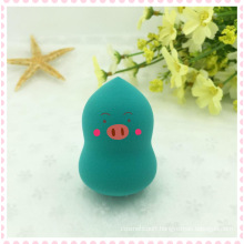Hydrophilic Non Latex Cosmetic Makeup Powder Puff Beauty Product Free Sample /Latex Free Makeup Sponge