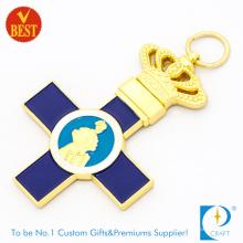 Haute qualité prix usine Chine personnalisé logo clé chaîne ou anneau pour cadeau souvenir