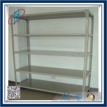 Angle de poids léger Serrure de rangement en acier / entrepôt Étagère de rangement / étagère à fente Rack en acier / étagère de vêtements