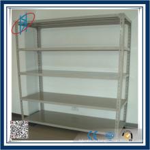Легкий вес Угловая сталь Хранение Полка / складская полка для хранения / шлицевая сталь Стальная стойка / стойка для одежды