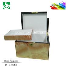 urnes de bois solides bon marchés pour cendres JS-URN175