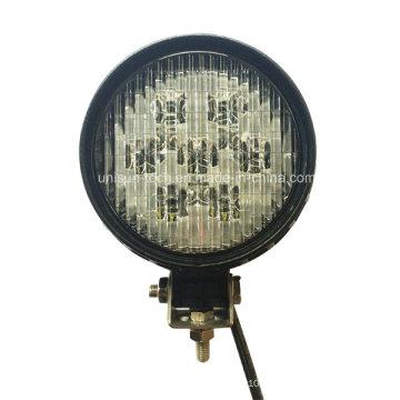Lampes de travail à roulettes à roulettes rondes à usage professionnel de 56W