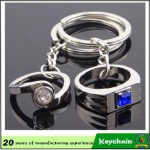 Cadeau de Saint Valentin Ffinger Ring Key Chain pour les amoureux