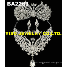 hot selling crystal necklace