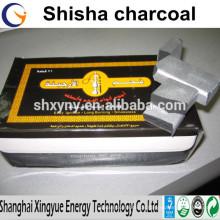rauchfrei, niedrige Asche, keine chemische, Shisha Shisha Kohle