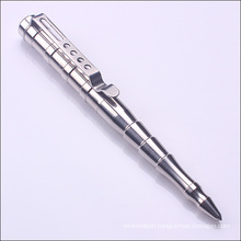 Silver Color Polish Military Tactical Pen for Self Protect Tc-T004