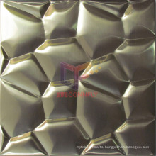 Water Cube 304 Stainless Steel Metal Mosaic Tile (CFM887)