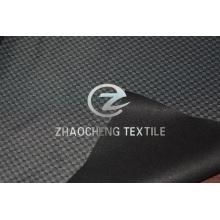100% poli pongee impreso + TPU + tejido de punto para exterior (ZCFF038)