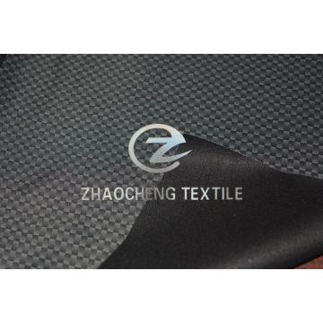 100% Poly Pongee Printed+TPU+Tricot Fabric for Outdoor (ZCFF038)