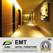 Paneles de pared de madera decorativos en MDF / Interior del hotel Panel de pared de madera (EMT-F1211)