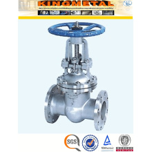 "A216 Wcb 5"" Inch Pn16 Handwheel Operated Gate Valve Drawing"