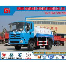 Dayun 4X2 conduzir caminhão de água / Caminhão tanque de água / caminhão de transporte de água / caminhão de pulverização de água / caminhão de água potável / caminhão-tanque LHD