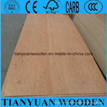 9mm Poplar Core Okoume Laminated Commercial Plywood